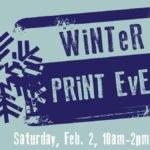 Peninsula School of Art Brings New Winter Print Event to Fish Creek's Winterfest Weekend