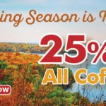 Fall Savings at Door County Coffee Co.