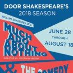 Door Shakespeare Summer 2018 Tickets on Sale, Early Bird Prices