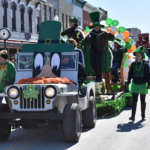 Celebrate County Door at the St. Patrick's Day Parade on March 16