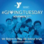 #GivingTuesday at the Door County YMCA