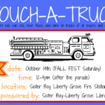 Touch A Truck is Coming to Fall Fest in Sister Bay