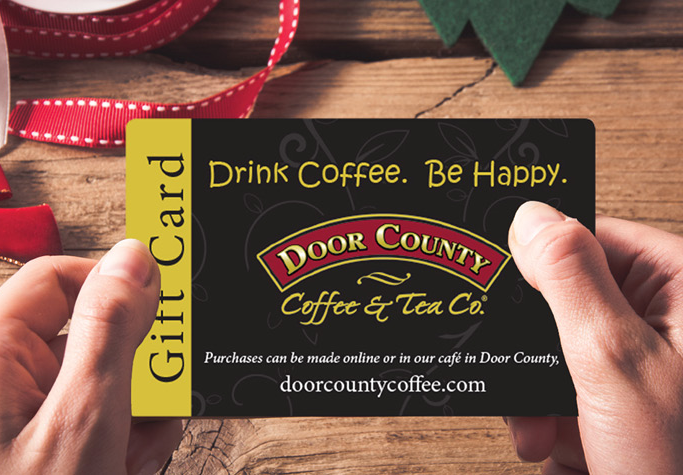 Let Door County Coffee Co. do the work for you this Christmas with 50+ beautifully packaged gifts they'll ship to your family and friends!
