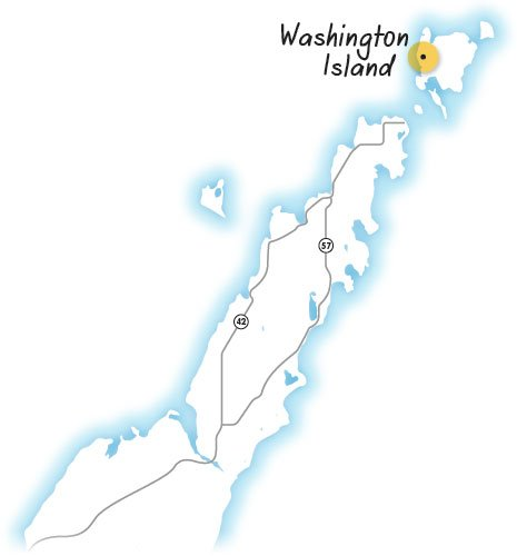 map-washington-island